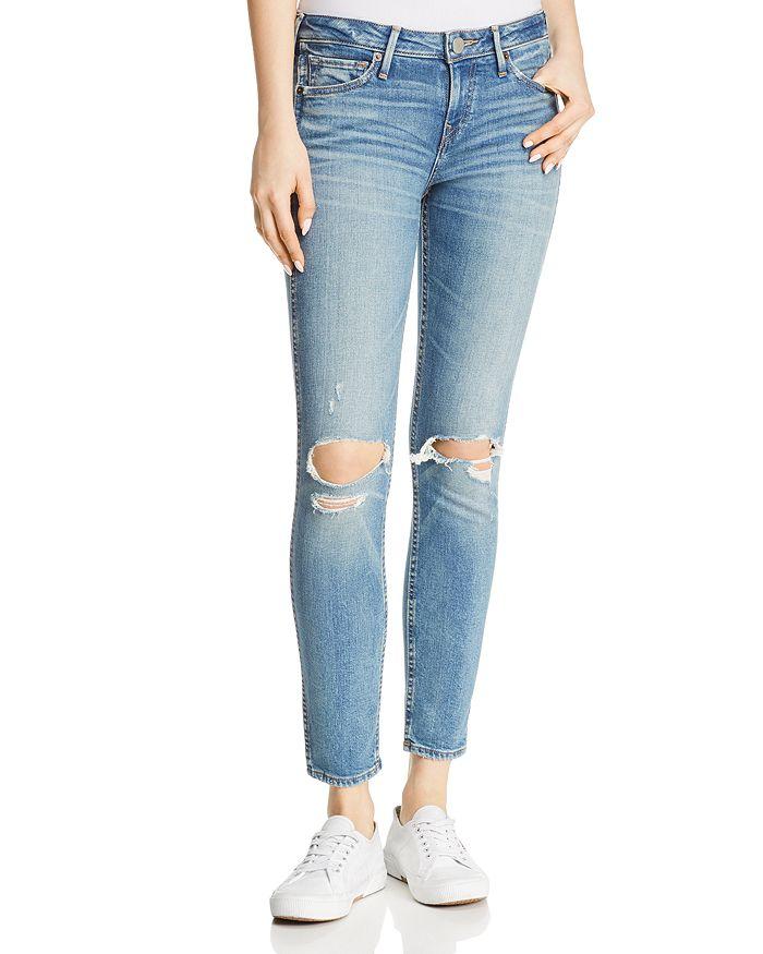 True Religion - Halle Caballo Super Skinny Jeans in Worn Wicked