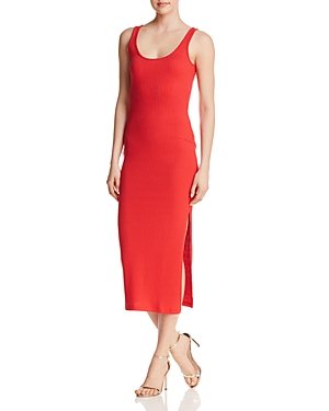 French Connection Tommy Ribbed Midi Dress