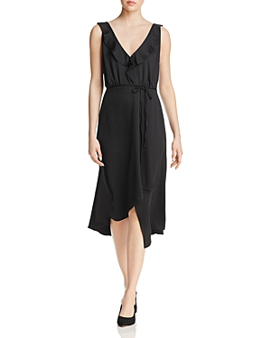French Connection Maudie Ruffled Faux-Wrap Dress