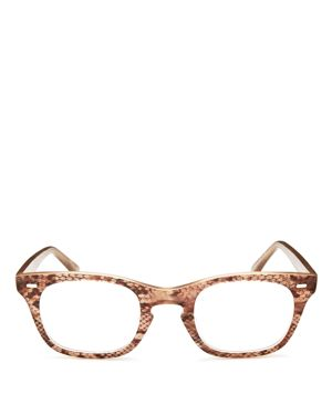 CORINNE MCCORMACK 'TONI' 48MM READING GLASSES - BROWN SNAKE