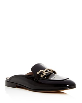 Salvatore Ferragamo - Women's Girl Patent Leather Mules