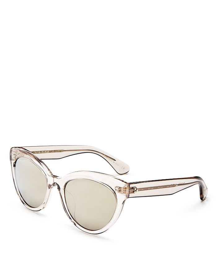 32a56350541 Oliver Peoples - Women s Roella Mirrored Cat Eye Sunglasses
