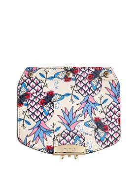 Furla - MY PLAY Interchangeable Metropolis Mini Butterfly Print Leather Flap