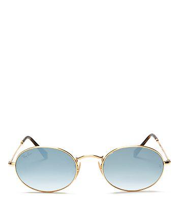 Ray-Ban - Unisex Gradient Oval Sunglasses, 54mm
