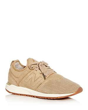 New Balance Women's 247 Knit Lace Up Sneakers