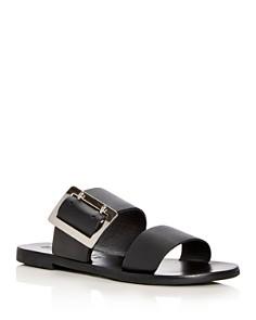 Sol Sana - Women's April Leather Slide Sandals