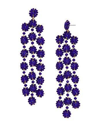 BAUBLEBAR - Shiori Floral Drop Earrings
