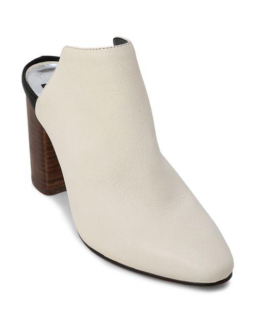Dolce Vita - Women's Renly Leather Block Heel Mules