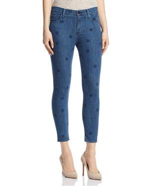 J Brand 835 Mid Rise Capri Skinny Jeans in Aerial 2899131