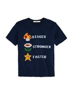 Junk Food Boys' Bigger Stronger Faster Nintendo Tee, Big Kid - 100% Exclusive - Bloomingdale's_0