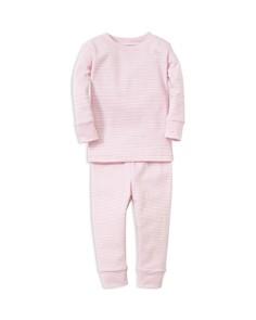 Kissy Kissy - Girls' Striped Pajama Top & Pants Set - Baby