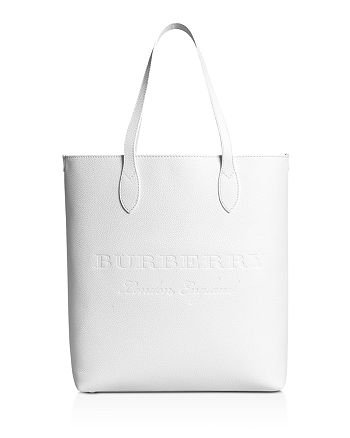 Burberry - Remington Embossed Leather Tote