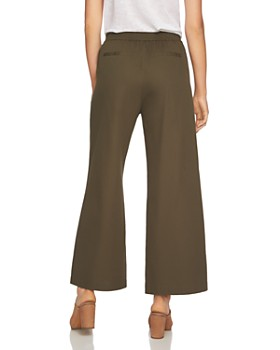 1.STATE - Lace-Up Wide-Leg Pants