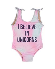 Shade Critters Girls' I Believe in Unicorns Swimsuit - Little Kid - Bloomingdale's_0