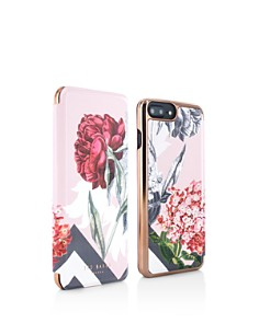 Ted Baker - Emmare Palace Gardens Mirror Folio iPhone 6/7/8 Plus Case