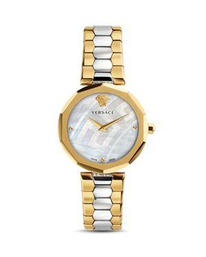 Versace Idyia Two Tone Watch, 36mm
