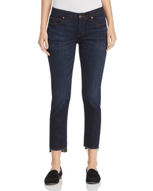 Eileen Fisher Slim Ankle Step-Hem Jeans in Utility Blue - 100% Exclusive 2877310