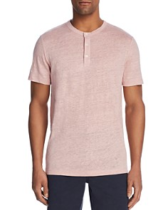 Theory Essential Short Sleeve Henley - 100% Exclusive - Bloomingdale's_0