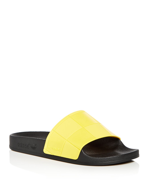 adidas Women's Adilette Checkerboard Slide Sandals