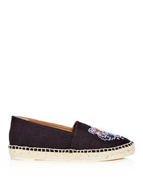 Kenzo - Women's Special Tiger Embroidered Espadrille Flats