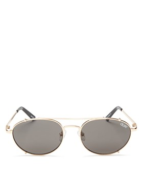 Quay - Women's Little J Aviator Sunglasses, 45mm