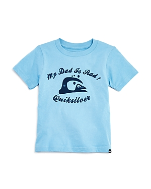Quiksilver Boys' My Dad Is Rad Tee - Little Kid