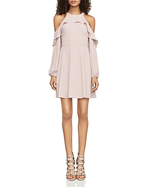 Bcbgmaxazria Katryna Cold-Shoulder Dress