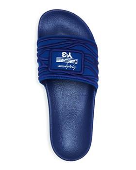 Y-3 - Men's Adilette Embroidered Slide Sandals