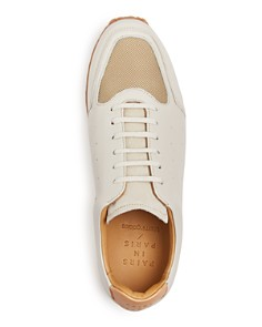 Pairs in Paris - Men's No. 21 Leather Lace Up Sneakers - 100% Exclusive