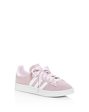 Adidas Girls' Campus Perforated Suede Lace Up Sneakers - Big Kid