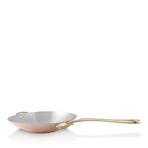 Mauviel M'150b Copper & Stainless Steel 12 Wok