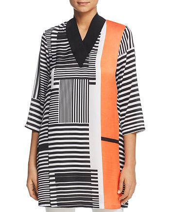 Kenneth Cole - Graphic-Print Dress