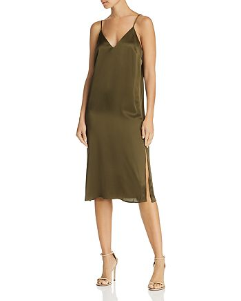 2136e478c3950 Anine Bing Gemma Silk Slip Dress | Bloomingdale's
