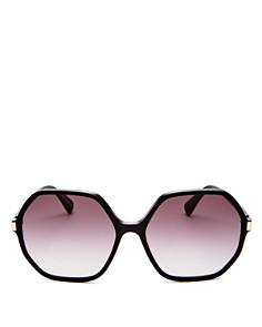 Longchamp - Women's Le Pliage family Square Sunglasses, 59mm