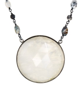Ela Rae - Morah Circle Pendant Necklace, 13""
