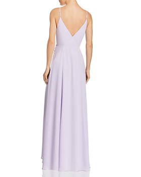 Fame and Partners - The Tilbury Wrap Gown - 100% Exclusive
