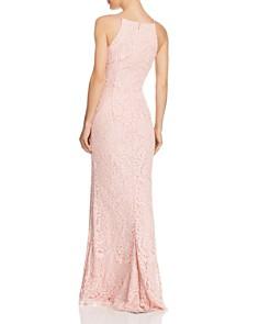 AQUA - Floral Lace Gown - 100% Exclusive