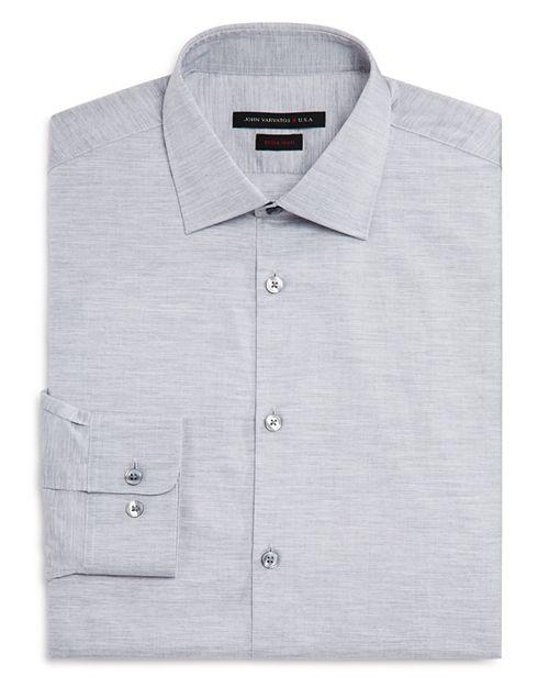John Varvatos Star USA - Solid Jersey Regular Fit Dress Shirt