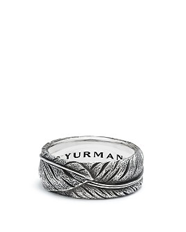 David Yurman - Southwest Narrow Feather Band Ring