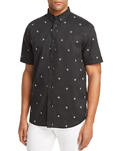 rag & bone Smith Patterned Button-Down Shirt - Bloomingdale's_0