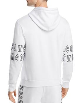 McQ Alexander McQueen - Bubble Letter Hooded Sweatshirt