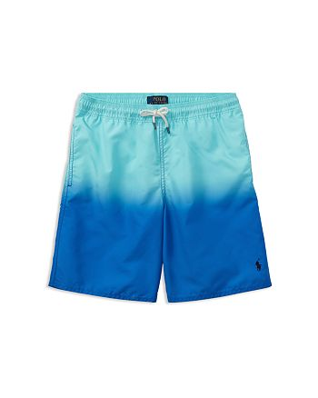 ad611e7c429fe Ralph Lauren Boys' Dip-Dye Swim Trunks - Big Kid | Bloomingdale's