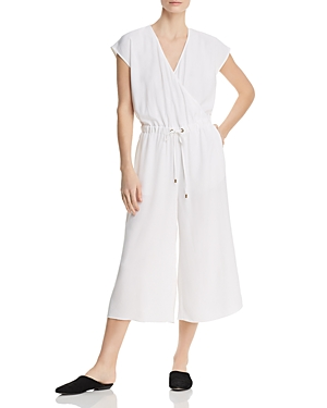 90ccabab74f Eileen Fisher Crepe Cropped Jumpsuit