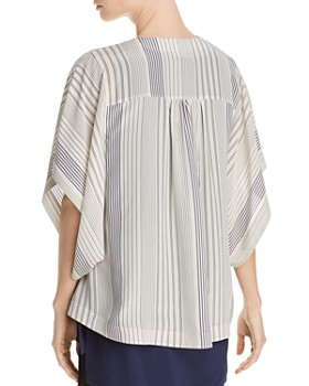 Eileen Fisher - Striped Silk Kimono Jacket - 100% Exclusive