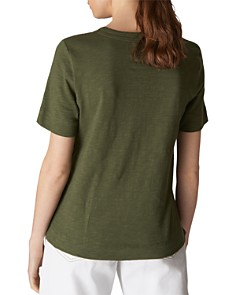 Whistles - Rosa Double-Trimmed Tee