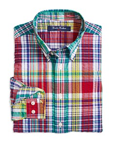 Brooks Brothers Boys' Madras Sport Shirt - Little Kid, Big Kid - Bloomingdale's_0