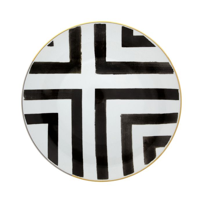 Vista Alegre - Sol y Sombra by Christian Lacroix Dinner Plate