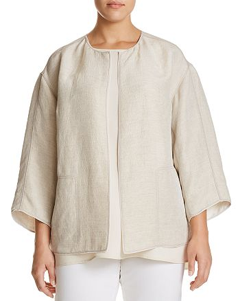 Lafayette 148 New York Plus - Milo Textured Jacket