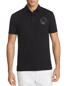 Versace Jersey Regular Fit Polo Shirt - Bloomingdale's_0