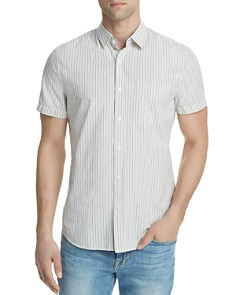 AG Nash Striped Button-Down Short Sleeve Shirt - Bloomingdale's_0